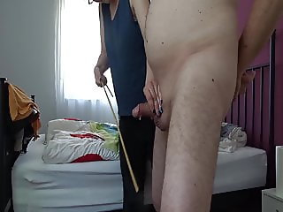 Ass and Cock caned