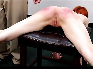 Julia Strapped for Laziness in Gym Classroom Full nude