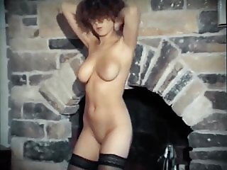 ANGEL EYES - British bouncy boobs dance striptease