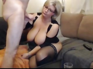 busty wife in stockings loves hardcore anal sex with her ex