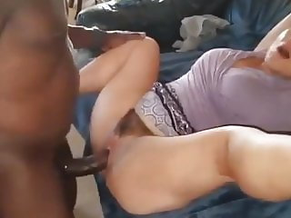 hairy wife talking to her huband while getting fucked by bbc