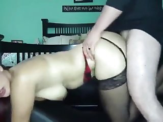 gorgeous young milf loves anal creampie with new neighbor