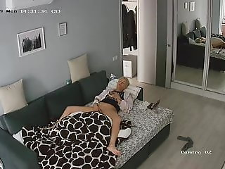 Hidden cameras.A very passionate woman, Masturbation 2