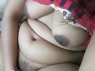 lovely girl with big boobs and hairy pussy fingers her pussy