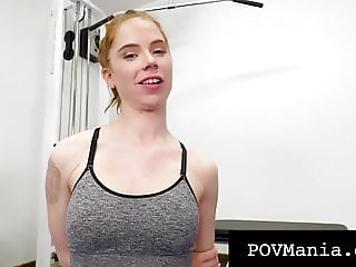 Jizz Lovin Pepper Hart Fills Mouth & Pussy With Cock & Cum!