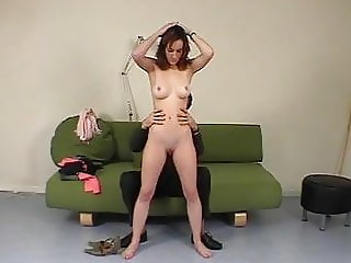 Modest girl punished spanked and humiliated