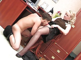Boy and mature woman part3