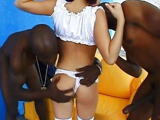 Ashley blue vs mandingo