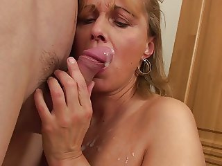 hot mature mom boy hard cock