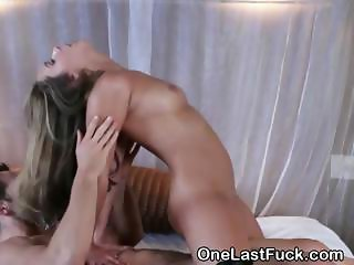 Gorgeous Brunette Ex Riding Dick And Fucked From Behind
