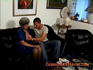 Granny Shila with her younger friend