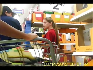 MILF Ass In Public - NonNude- Creeper Vid