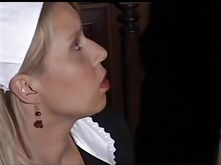 hot german maid blowjob
