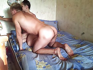 Russian mature couple at home 1