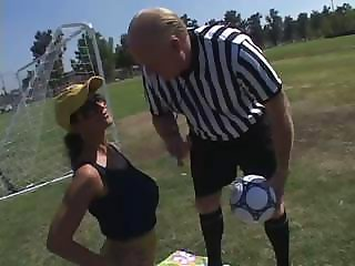 Soccer MILF Vs. Gramps