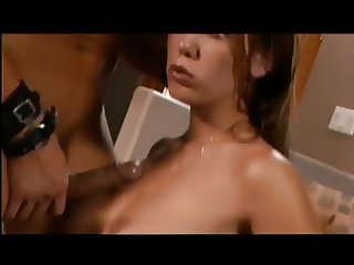 Brunette Alicia Use Her Tight Cunt To Milk A Fat Cock.