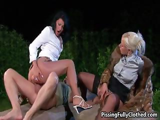 Two horny girls in sexy lingerie fucking part3