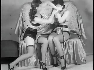 Vintage Stripper Film -B Page Sorority Girl