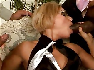 Blonde Fucked By Her Sales Staff