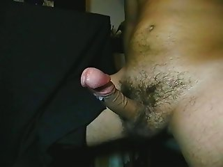 Wank and cumshot for my fat BBW Boss