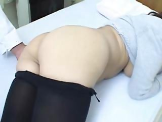 asian doctor and asian bum
