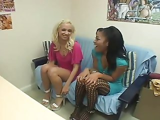 Two Young Girls Gets Fucked By Two Guys #222NT