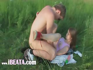 Brutal cheerleaders anal outdoor sex