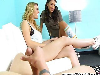 Sierra Day and lovely Vicki in a nice threesome