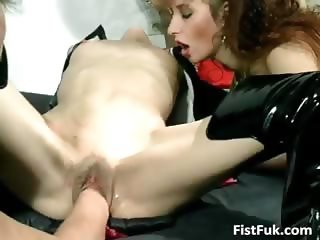 Brutal fist fuck where naughty dude part3