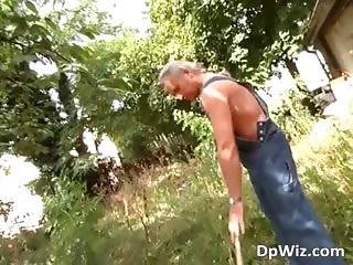 Outdoor fucking in the country with some part2