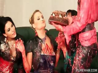 Lesbo messy sluts shows sexy assets
