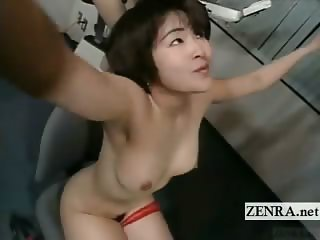 Subtitled Japanese ENF shy nudist weight training class