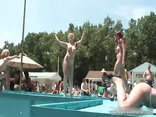 Dirty bithes are getting naked part2