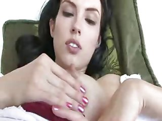 Self facial babe sucks her own milk 2