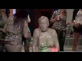 Fierce Mud Wrestling - Chicks Give Us A Great Show