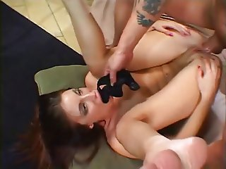 Brandi Gets Her Asshole Reamed By An Asshole