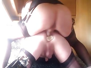 Double penetration anal TR