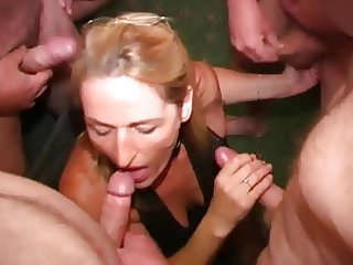 British Whore Mother Loves Cum Facials(Crystal 3)