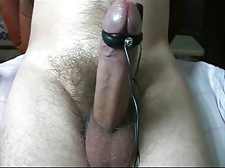 E-stim. My cock in shock.