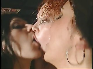 Girl gives BJ and bung hole drilled