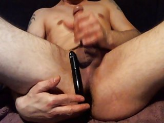 wank , analplaying and cum