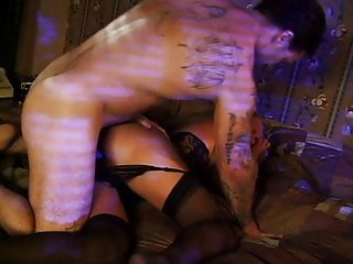 Submissive blonde fucked in role playing