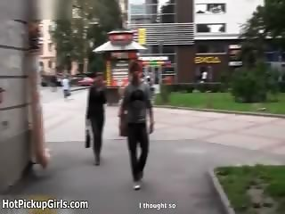 Young guy gets horny talking with a girl part3