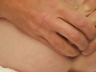 Anal insertion ass toy arse dildo extreme gaping