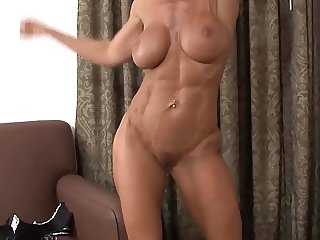 cougar  Janet Mason shows her fit body