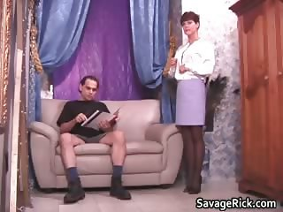 Sexy secretary Liz gets tied by kinky part6