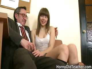 Nasty brunette hoe blows stiff rod part4