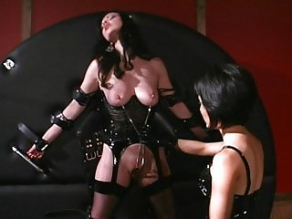 Playing with my submissive chicks