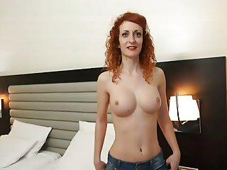 Silvia Camps - Busty Redhead Teen Girl Hard Action
