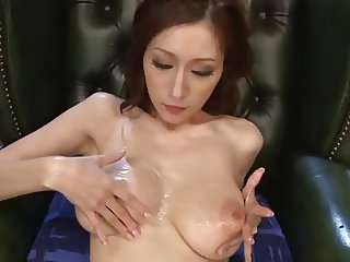 JULIA - Big tits bukkake